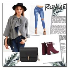 """romwe 1"" by ermina-camdzic ❤ liked on Polyvore featuring romwe"