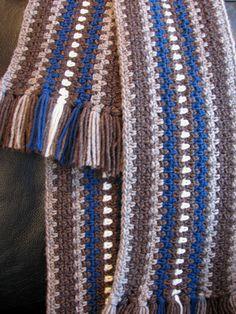 striped scarf with fringe http://www.crochetme.com/media/p/88608.aspx#
