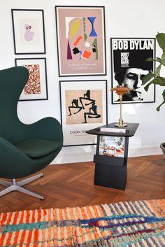Interior Inspiration, Room Inspiration, Living Room Decor, Bedroom Decor, Interior Styling, Interior Design, Flat Ideas, Retro Home, Room Interior