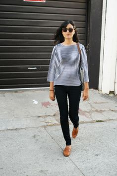 - Loafers Outfit - Ideas of Loafers Outfit - . Brogues Outfit, Mode Vintage, Casual Fall Outfits, Camel Flats, Tan Loafers, Brown Oxfords, Minimal Fashion, Pretty Outfits, What To Wear