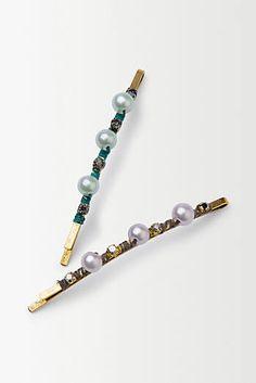 Pearl Drop Hair Pins