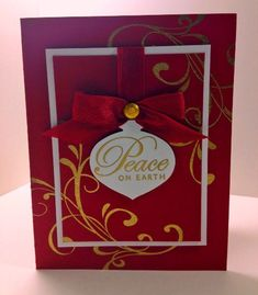 Elegant Peace by pixiedustmom - Cards and Paper Crafts at Splitcoaststampers