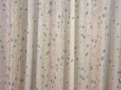 Sisley duck egg curtain fabric