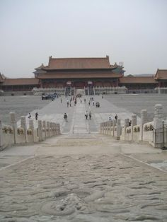 Forbidden City-stood right here! Amazing!