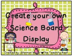 Here's a series of directions and templates to guide students through creating a project display board/trifold.