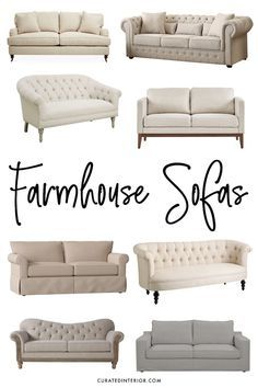 Farmhouse Sofas For All Budgets Shopping For A Modern Farmhouse
