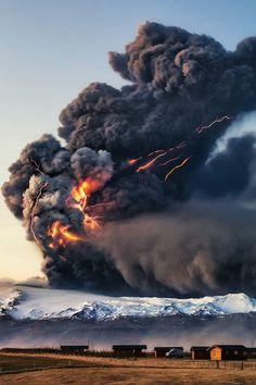 Eyjafjallajökull, Iceland, by Gunnar Gestur