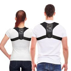 BODY WELLNESS POSTURE CORRECTOR You can wear this body wellness posture corrector under clothes or on top of the clothes and it will remain as new for a long time.This upper back posture corrector makes you forget the back pain and the bad posture. Better Posture, Good Posture, Improve Posture, Focus Improve, Back Brace For Posture, Shoulder Support Brace, Shoulder Brace, Shoulder Posture, Posture Corrector For Men