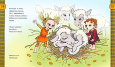 Säde-LAMMAS-PiretRäni-4 | by Illustraator Pir Princess Zelda, Illustrations, Animals, Fictional Characters, Art, Art Background, Animales, Animaux, Kunst