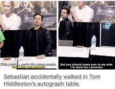 "The fan and then he's like ""I m more fun i promise."" XD I just, I just cannot!"