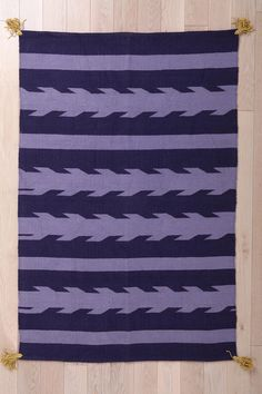 Magical Thinking Arrow-Stripe Rug #urbanoutfitters