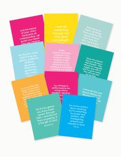 Scripture Cards Set