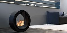 Commoto Rolling Fireplace.  Convenient movement of warmth, or an Arsenists's dream weapon?