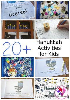 Hanukkah Activities and Printables Hanukkah Activities & Printables for kids – ABCs, numbers, sensory bins, crafts, and more on Hanukkah For Kids, Feliz Hanukkah, Hanukkah Crafts, Jewish Crafts, Hannukah, Kindergarten Activities, Activities For Kids, Crafts For Kids, Winter Activities