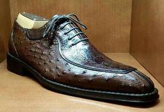 Dress shoes men - Formal Ostrich Derby Shoes for Men – Dress shoes men Mens Shoes Boots, Sock Shoes, Men's Shoes, Shoe Boots, Italian Leather Shoes, Leather Men, Gentleman Shoes, Derby Shoes, Formal Shoes
