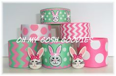 MINT JULEP BUNNY Easter Ribbon Mix - Oh My Gosh Goodies Ribbon by omygoshgoodies on Etsy https://www.etsy.com/listing/180890473/mint-julep-bunny-easter-ribbon-mix-oh-my