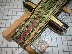 From the blog of Daryl Lancaster.  In this blog post she talks about her Beka inkle loom, which she discovered, conveniently fits into a suitcase.