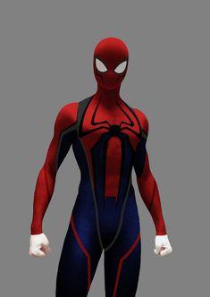 Spider man (concept art) by Sany Lebedev on ArtStation. Spiderman Anime, Spiderman Spider, Amazing Spiderman, Superhero Suits, Spiderman Suits, Spiderman Costume, Marvel Funny, Marvel Vs, Marvel Heroes