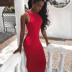 Likes, 92 Comments - Jourdan Riane Sexy Dresses, Cute Dresses, Formal Dresses, Classic Man, Beautiful Black Women, Bodycon Dress, Instagram, Clothes, Slay