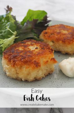 This Easy Fish Cakes Recipe is family friendly, a great easy dinner and also freezer friendly. This recipe is the perfect way to use up any leftover fish you may have. Both regular and Thermomix instructions included. Easy Fish Cakes, Cod Fish Cakes, Crab Cakes, Tuna Fish Cakes, Fish Patties, Fishcakes, Cooking Tips, Cooking Recipes, Thermomix Recipes Healthy