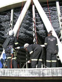 Scaff-Tech rope access techs, Bloemfontein, South Africa. www.scafftech.co.za