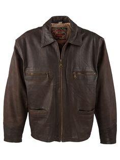 Brando Vintage Aviator Jacket - XXL at Retropolis Apparel Co.