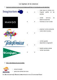 Los logotipos de las empresas españolas. Blog: espagnol.hispania.over-blog.com