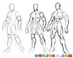 como dibujar anime - Google Search                                                                                                                                                                                 Mais