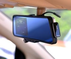 GPS And Dash Cam Rearview Mirror #cars #geeky #gps #electronics #dashcam #lawsuit
