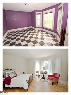 Nicole Curtis - Rehab Addict - $ Dollar House before after photos