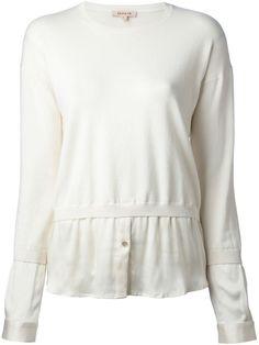 P.A.R.O.S.H. 'Stelline' panelled sweater - £262 on Vein - getvein.com