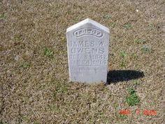 James W. Owens 1842 thru 1914 Pvt. Co C 10th AL Infantry CSA