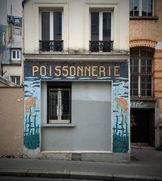 Rue de la Mare, Paris 20e. Janvier 2016.