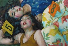 http://www.artnet.com/artists/xenia-hausner/lucky-number-a-7wJnBXXvTJyu-gn0mWVSkw2