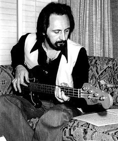 John Entwistle, The Who Fender Bass, Bass Guitars, John Entwistle, All About Music, Rock Bands, Ox, Badass, Image, Rocks