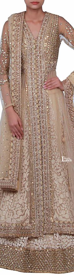 trendy ideas for indian bridal beauty india Pakistani Wedding Dresses, Pakistani Outfits, Indian Dresses, Indian Outfits, India Fashion, Asian Fashion, Bridal Outfits, Bridal Dresses, Saris