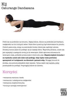 Pozycja dla początkujących. Wykonuj ją każdego ranka lub wieczorem, pozostań w tej pozycji od 5 do 10 sekund. Powtórz kilkakrotnie.