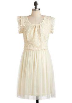 Glad Your Meringue Dress, #ModCloth