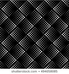 Vector seamless pattern. Modern stylish texture.  Repeating geometric tiles. Minimalistic dotted rhombuses. Simple pastel backgrounds. Pattern Bank, Geometric Tiles, Pastel Background, 3d Texture, Overlays, Monochrome, Print Patterns, Digital Art, Dots