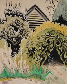 Charles Burchfield - Glory of Spring (Radiant Spring)  1950