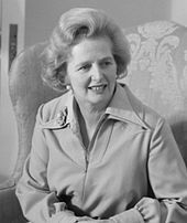 Margaret Thatcher - Prime Minister of Great Britain from 1976-1990