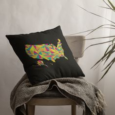Want to add a splash of color to your home? This premium feel throw pillow cover is just what you're looking for!