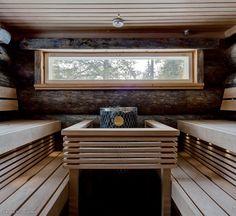 Timber sauna