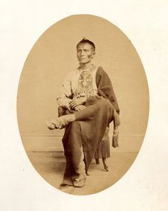 Ka-Ke-Ga-Sha (aka Yellowish-Red Chief, aka Ga-Hi-Ge Zhi, aka Who Keeps A Sacred Pipe, aka Pi-Sing, aka Game) - Kaw – 1867