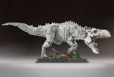 Indominus Rex Gets Genetically Modified With LEGO