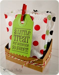 A little treat for someone so sweet!