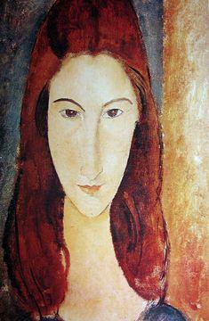 Amedeo Modigliani - Jeanne Hébuterne  1919
