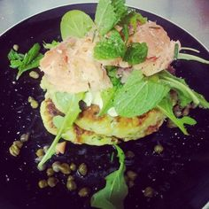 33 Cups Ulverstone - Zucchini Fritters with 41 South Salmon