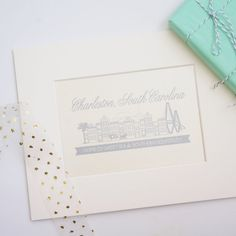 Charleston Single Houses Print Gift Idea by dodelinedesign on Etsy