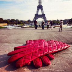 Hello Paris! Gloves Gabrielle available now at Maison Fabre  store in Paris, Versailles and Millau
